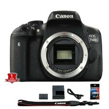 Canon EOS Rebel T6i / 750D DSLR Camera New Year's Day Sale