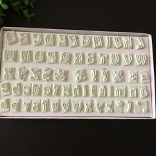 Alphabet Letter& Number Fondant Cookie Cutter Mold Chocolate Cake Embosser Mould