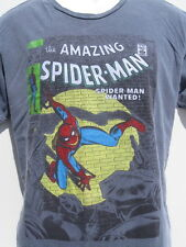 Marvel Comics the Amazing Spiderman #70 Spiderman Wanted gray t shirt sz L
