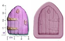 FAIRY / CASTLE DOOR Small Craft Sugarcraft Fimo Sculpey Silicone Rubber Mould