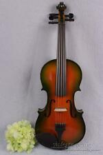 Full size electric acoustic violin Yellow Color 5 string Maple & spruce #1570