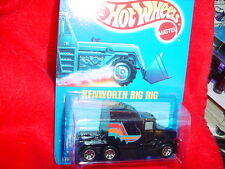 HOT WHEELS #76 KENWORTH BIG RIG WITH 7 SPOKE RIMS BLUE CARD FREE USA SHIP