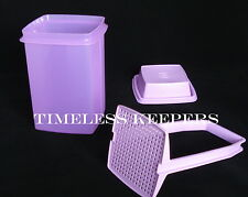 Free Ship Tupperware PICK A DELI Large 8.5C/2Liter Peppers Pickles New Purple