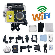 Ultra 4K HD 1080P Waterproof WiFi DVR DV Action Sports Camera Video Camcorder US