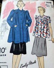 LOVELY VTG 1930s SMOCK DU BARRY Sewing Pattern 14/32
