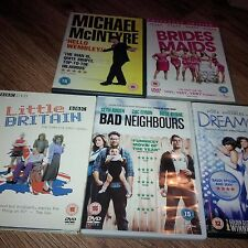 Sherlock Holmes, Braids maids, Bad neighbours,Dream girls & more ( pack of 7DVDS