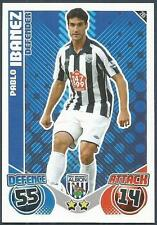 TOPPS MATCH ATTAX 2010-11- #295-WEST BROMWICH ALBION-PABLO IBANEZ