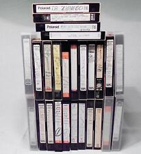 Lot of 26 Used Prerecorded VHS Videotapes w/ TV Shows & Commercials Cincinnati