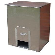 Parasene Galvanised Steel Coal Bunker No.3 Fuel/Salt/Feed 3cwt Storage 150kg