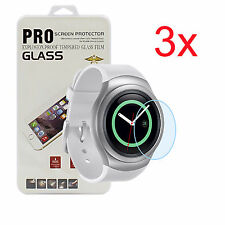 3x Gorilla Glass Screen Protector For Samsung Galaxy Gear S2 R730 R720 R7200