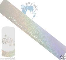 Transferfolie Transparent-Glitzer-Irisierend, Nageldesign, Nailart, Nr.TRF-286