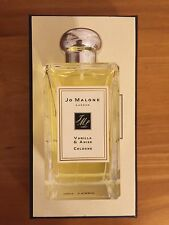 New In Box Jo Malone cologne 100 ml Vanilla & Anise Discontinued Very Rare