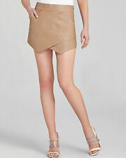 NEW BCBG MAX AZRIA SKIRT COLOR CAMEL Asymmetric angles 100% AUTHENTIC SZ L BEUTY