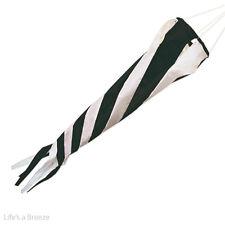 """Blanco Y Negro windsock 36 """"bandera poste use.windspinner caravana y autocaravana Uso"""