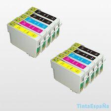 10 Cartuchos NonOem EPSON T0715 STYLUS S 20 S 21 SX 105