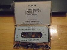 MEGA RARE PROMO Far Cry DEMO CASSETTE TAPE 1991 pre SUN 60 Joan Jones Dave Russo
