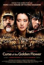 CURSE OF THE GOLDEN FLOWER Movie POSTER 27x40 Jay Chou Yun-Fat Chow Li Gong Qin