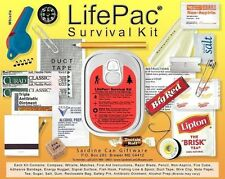 LifePac Emergency Survival Kit Sardine Can Supplies Aid Camping Hiking Cooking