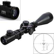 ZOS 10-40x60 SFE IR SWAT Extreme Tactical Rifle Scope Waterproof W/ Scope Mounts