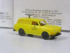 Wiking Serienmodell VW 1600 Bundespost Funkmesswagen in OVP