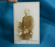C19th CDV Foto German Army Deutsches Heer Soldier 101st Genadiers Saxon Dresden