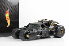 2005 Movie the Dark Knight trilogy Batman Begins Batmobile 1:18 HOTWHEELS