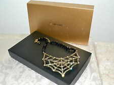 "NIB $190 HEIDI DAUS ""Dazzling Dreamweaver"" Single Strand Crystal Necklace"