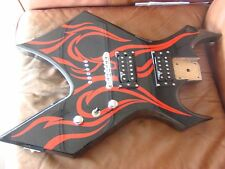 B.C. Rich KKW Electric Guitar Loaded Body