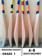 Authentic Grade Double Blade Special 50mm edges English Willow Cricket Bat