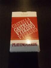 Vtg Boxed Advertising Pack of Wills CASTELLA Cigar Playing Cards in Box & Jokers