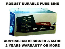 24VDC 1200W 110 or 230VAC ROBUST SINE INVERTER GERMAN AUSTRALIAN DESIGNED & MADE