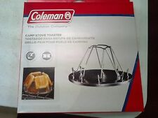 Coleman, CAMP STOVE TOASTER, STEEL WITH CHROME-PLATED FINISH, TOASTS 4 SLICES