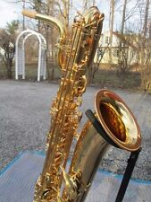 YAMAHA YBS62 LOW A BARITONE SAXOPHONE EXCEPTIONALLY NICE! W/TWO CASES YBS 62