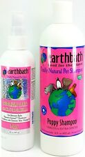 Earthbath All Natural Tearless Extra Gentle Puppy Shampoo Deodorizing Spritz Set