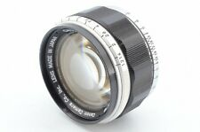 Canon 50mm f/1.2 F 1.2 Leica Screw Mount LTM L39 Lens From Japan #573