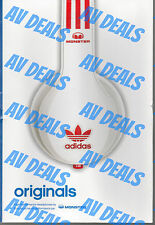 Adidas Originals by Monster Over-Ear Headphones Limited Edition White/Red