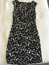 Chaus Black And White Dress Large