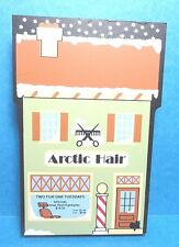 "The Cats Meow ""Artic Hair"" North Pole Collection Shelf Sitter 2002"