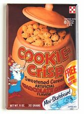 Chocolate Cookie Crisp FRIDGE MAGNET (2 x 3 inches) cereal box wizard