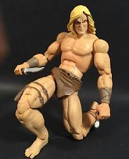 "2008 SDCC EXCLUSIVE MARVEL LEGENDS THE SAVAGE LAND SET KA-ZAR 6"" FIGURE COMPLETE"