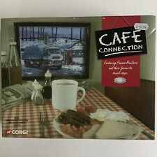 ALBION REIVER SHEETED PLATFORM LORRY-Cafe Connection- CORGI LIMITED EDITION