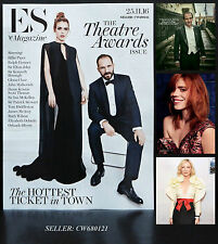 BILLIE PIPER RALPH FIENNES LDN EVENING STANDARD THEATRE AWARDS ES MAGAZINE 2016