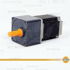 ACT Motor GmbH 1Stück Nema23 Geared Motor 23HS8430AG15 4Leitungen 3A 1.4N.m 15:1