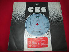 Umberto Tozzi I Love You S CBS 6491 Promo 7inch 45 single
