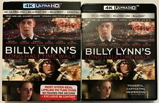 BILLY LYNN'S LONG HALFTIME WALK 4K ULTRA HD 3D BLU RAY 3 DISC + SLIPCOVER SLEEVE