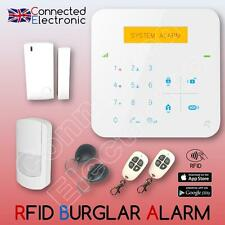 WIRELESS LCD RFID GSM SMS AUTODIAL HOME HOUSE OFFICE SECURITY BURGLAR  ALARM