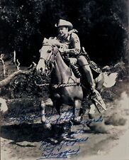 Rare Still Roy Rogers SIGNED NYPD BROADWAY TRIGGER