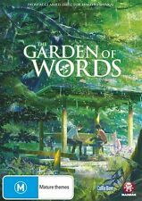 The Garden of Words DVD NEW