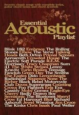 Essential Acoustic Playlist Learn to Play Piano Guitar Lyrics Music Book