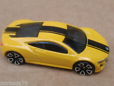 2015 Hot Wheels 12 ACURA NSX CONCEPT 191/250 Speed Team LOOSE Yelow